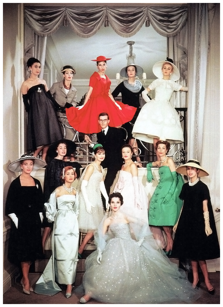 3_yves-saint-laurent-and-the-house-models-of-maison-dior-christian-dior-spring-1958-couture