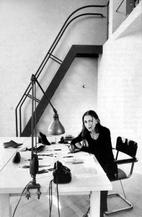 4_Ann Demeulemeester in her Le Corbusier studio