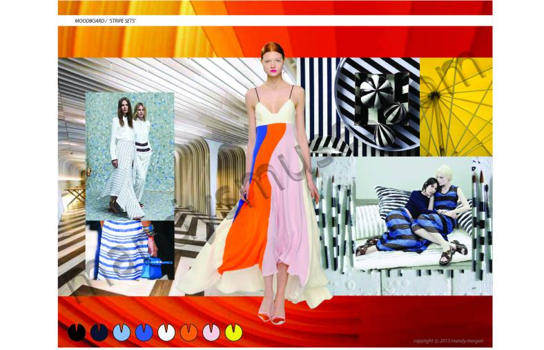 STRIPE SETS moodboard